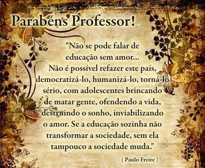 Mensagem Aos Professores E Professoras Vereador Professor Erildo